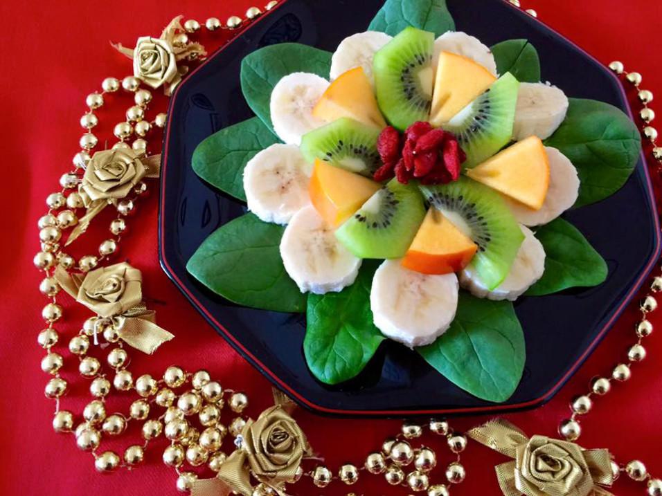 Ich werde weiterhin Antioxidantien über die Superfutter-Ernährung tanken...
