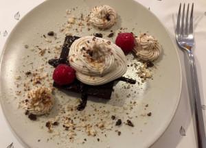 Bei diesem göttlichen Dessert fühlt man sich wie im Himmel.