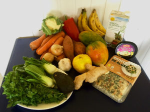 Früchte und Gemüse in Hülle und Fülle.