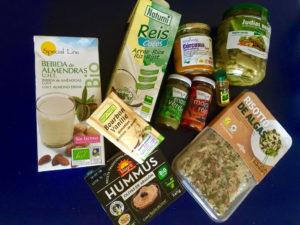 Die Auswahl an veganen und teils auch biologischen Produkten ist in Puerto de la Cruz sehr gut.
