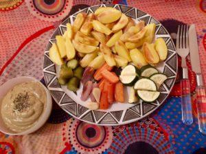 Wenn ich tagsüber viel geleistet und viel Rohkost gegessen habe, liebe ich abends ein Verwöhnessen. Natürlich achte ich auch da auf gesunde Zutaten, aber es darf auch mal üppig ausfallen. Weil es mir gut tut!