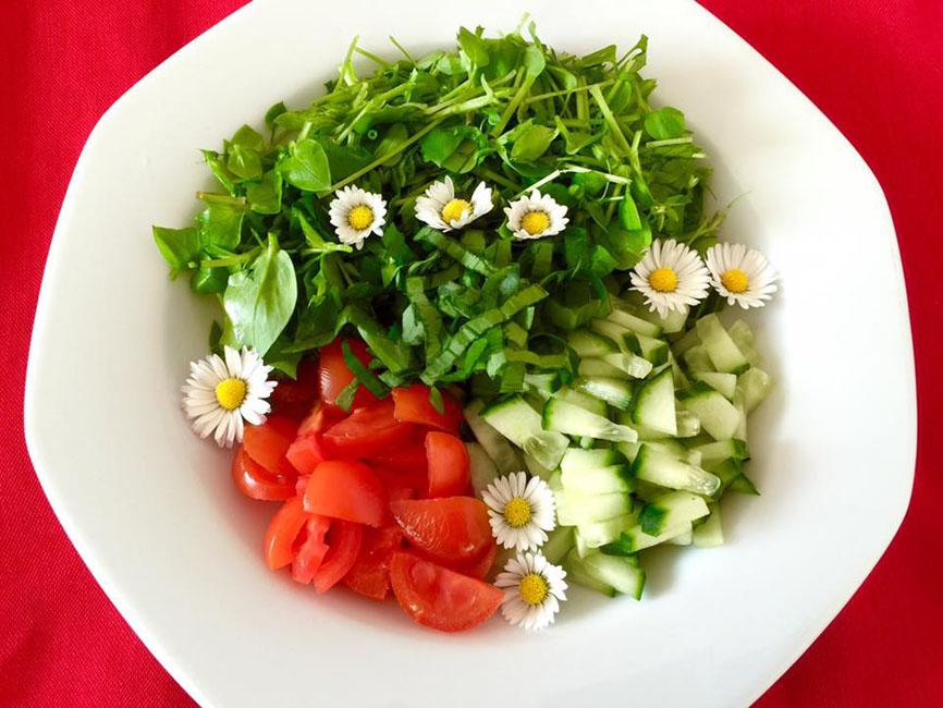 Minimalistisch essen bedeutet weder Fasten noch Verzicht. Nicht nur Rohkost gehört zu dieser Ernährungsform...