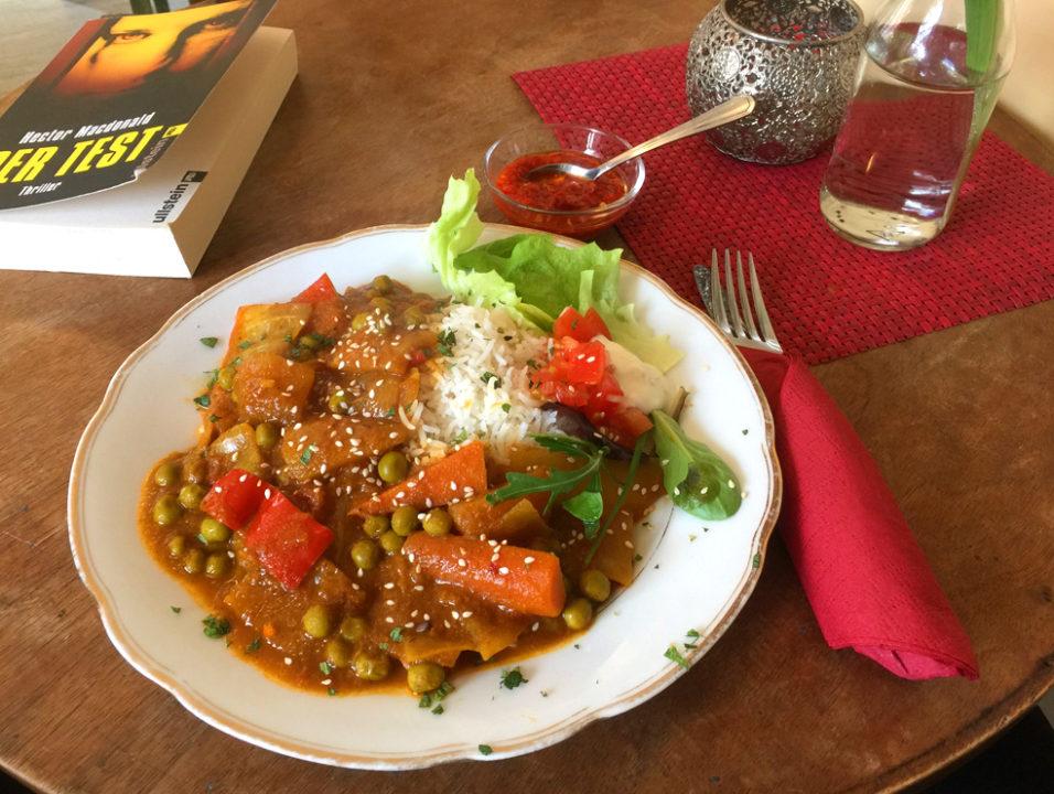 Die Grundportion Indisches Gemüse-Curry von Nashia.